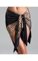 Gottex Leopard Print Pareo Swimsuit Cover Up - Lyst