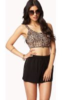 Forever 21 Studded Dolphin Shorts - Lyst