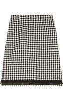 Marni Embellished Woolblend Jacquard Skirt - Lyst