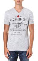 DSquared2 Trumpet Tshirt - Lyst