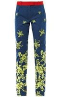 Preen By Thorton Bregazzi Citrus Flower print Trousers - Lyst
