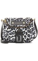 Marc By Marc Jacobs Natasha Animalprint Shoulder Bag - Lyst