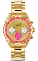 Kate Spade Seaport Chronograph Watch 38mm - Lyst