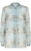 Matthew Williamson Jewel Print Shirt - Lyst