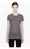 Marc By Marc Jacobs Puzzle Print Jersey Tshirt - Lyst