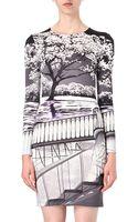 Mary Katrantzou Silk Printed Dress - Lyst