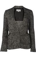 Mary Portas The Silver Lurex Boucle Jacket - Lyst