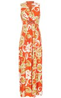 Almost Famous Paisley Print Maxi Dress - Lyst