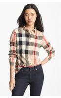 Burberry Brit Aartu Check Print Shirt - Lyst