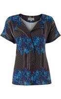 Mary Portas Pleat Front Blouse - Lyst