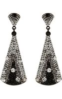 Mikey Triangle Large Earrings - Lyst
