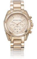 Michael Kors Glitz Chronograph Watch - Lyst