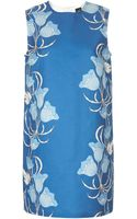 Topshop Floral Shift Dress By Boutique - Lyst