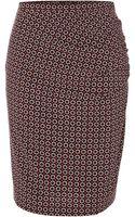 Weekend By Maxmara Calmi Printed Pencil Skirt - Lyst