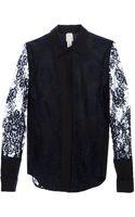 Anne Valerie Hash Lea Lace Shirt - Lyst