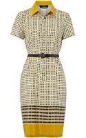 Weekend By Maxmara Boario Short Sleeved Printed Tea Dress - Lyst