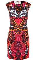 McQ by Alexander McQueen Printed Dress - Lyst