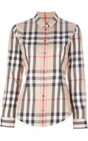 Burberry Brit Checked Shirt - Lyst