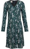 Marni Printed Silk Twill Dress - Lyst