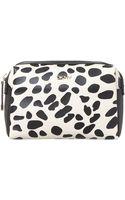 DKNY Animal Print Medium Cosmetic Bag - Lyst