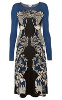 Temperley London Poppy Jacquard Dress - Lyst
