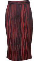 Vivienne Westwood Anglomania Pencil Skirt - Lyst