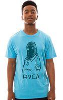 RVCA The Thumb Head Tee - Lyst