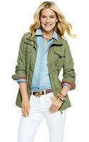 C. Wonder Cotton Poplin Safari Jacket - Lyst