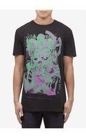 Marc Jacobs Cross My Heart Print Cotton T-shirt - Lyst