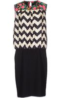 MSGM Kneelength Dress - Lyst