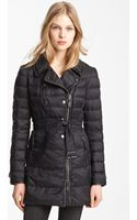 Burberry Brit Hallowell Down Trench Coat - Lyst