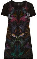McQ by Alexander McQueen Hummingbirdprint Cottonjersey Dress - Lyst