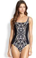 Gottex One-piece Cote Divoire Tank Swimsuit - Lyst