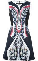 Peter Pilotto Naomi Printed Aline Dress - Lyst