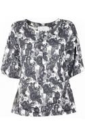 Thakoon Addition Brocade A-Line Top - Lyst