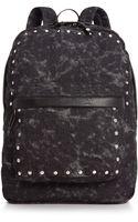 Material Girl Denim Acid Washed Backpack - Lyst