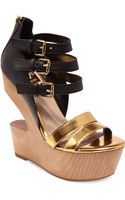 Dolce Vita Jeopardy Cut Out Platform Wedges - Lyst