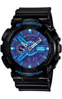 G-shock Mens Analog Digital Black Resin Strap Ga110hc1a - Lyst