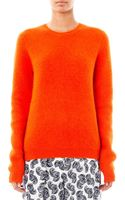 Jonathan Saunders Angora blend Sweater - Lyst