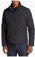 Cole Haan Quilted Jacket - Lyst