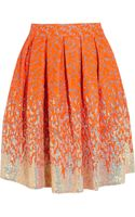Matthew Williamson Winter Garden Embellished Organza Skirt - Lyst