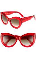 Wildfox Kitten 56mm Sunglasses - Lyst