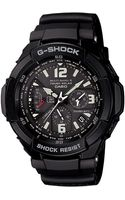 G-shock Mens Analog Digital Aviation Black Resin Strap 1a - Lyst