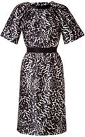 Giambattista Valli Leopard Print Dress - Lyst