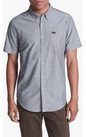 RVCA Thatll Do Short Sleeve Oxford Shirt - Lyst