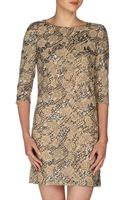 Erin Fetherston Sequined Rose Embroidered Shift Dress - Lyst