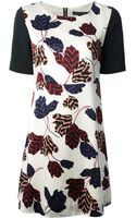 Marc By Marc Jacobs Floral Print Dress - Lyst