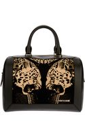 Roberto Cavalli Leopard Print Tote - Lyst