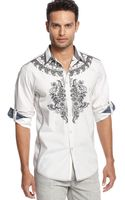 Inc International Concepts Long Sleeve Sparrow Shirt - Lyst