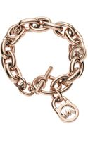 Michael Kors Toggle Bracelet - Lyst